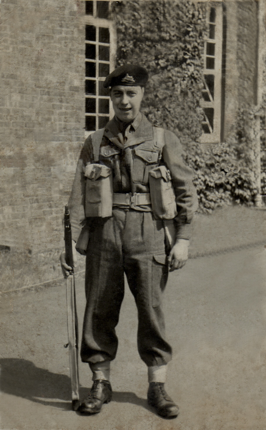 Brian Tappin - National Service 1954