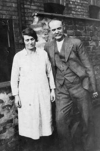 John Sydney and Sarah Ann Terry circa 1920s