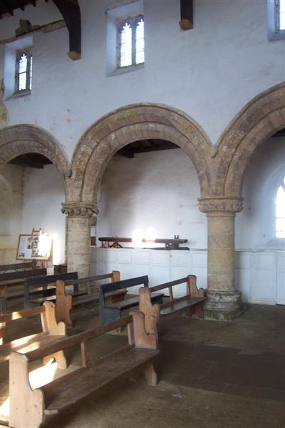 All Saints interior