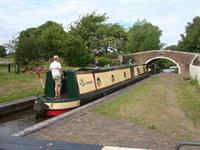 Tixall Lock 43 & Bridge 107