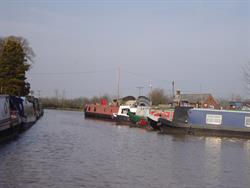 Leaving Nantwich Basin