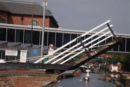 Lift Bridge at Banbury