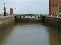 Dock Gates to the River Humber Esturay
