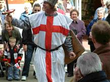 St George's Day Chester