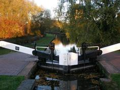 Autumn colour at the Lock